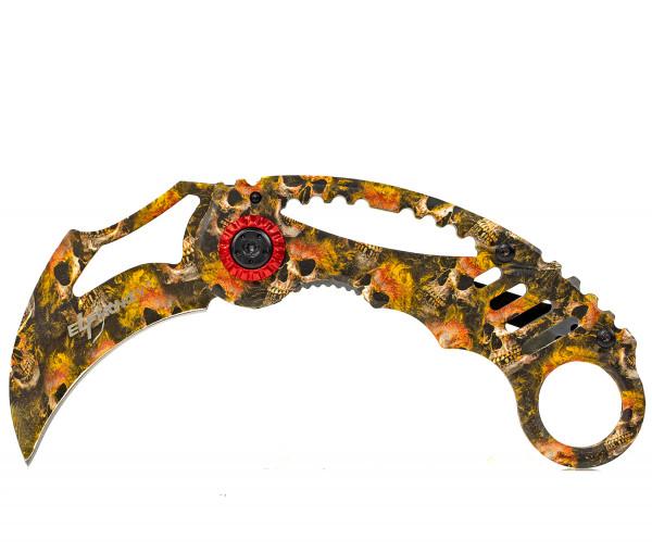 Karambit Klappmesser extra Scharf Taschenmesser Messer Einhandmesser Rettungsmesser Angelmesser Jagdmesser Survival Outdoor
