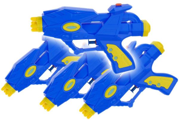 Alien Wasser-Pistole Kinder-Spielzeug Gelb Grün Wasser-Spritze Sommer-Spielzeug Spielzeug-Pistole Wasser-Gewehr Aqua-Gun Pool-Kanone Planschbecken-Pistole Garten-Party Spielzeug-Waffe Swimming-Pool-Gun