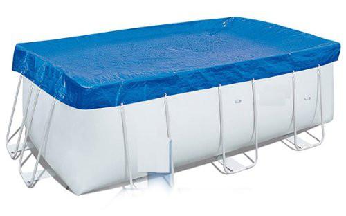 Pool & Planschbecken Schützhülle Blau 396 x 170 cm