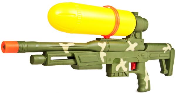 Wasser-Pistole Wasser-Gewehr Wasser-Spritze Army Forces 60cm Fun