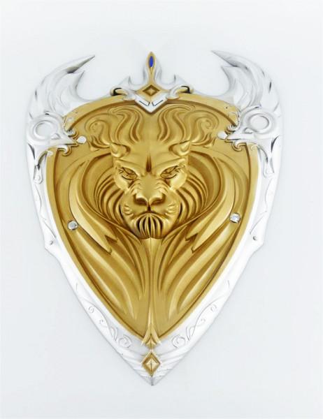 Ritter Schild aus hochwertigem Latex | ideal für Verkleidungen, Cosplay, Gamer Messen