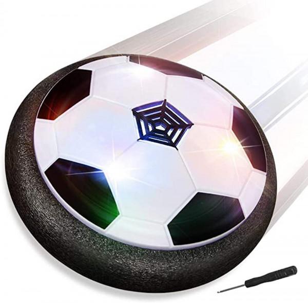 Air Power Fußball | Hover Power Ball | Indoor Fußball | Perfekt zum Spielen in Innenräumen | kein Beschädigen von Wänden oder Möbeln