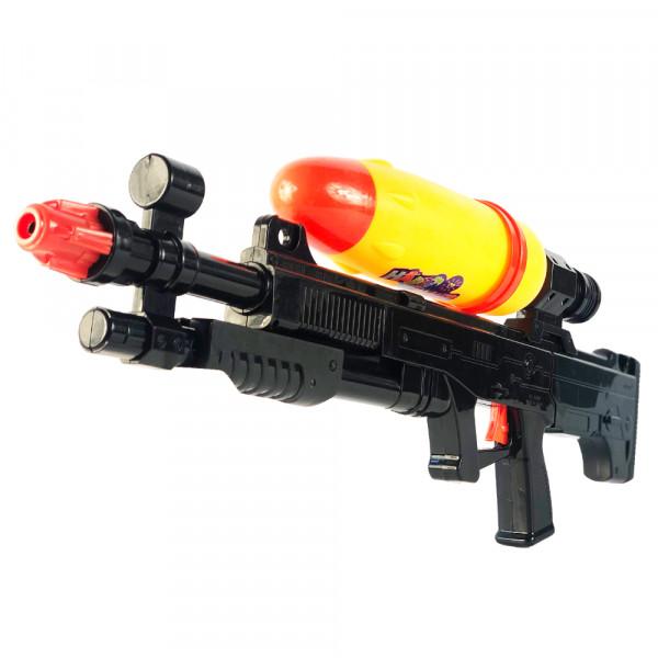 Wasser-Pistole ca. 69 cm | Wassergewehr großer Reichweite | Sommer-Spielzeug Spritzpistole für Kinder und Erwachsene