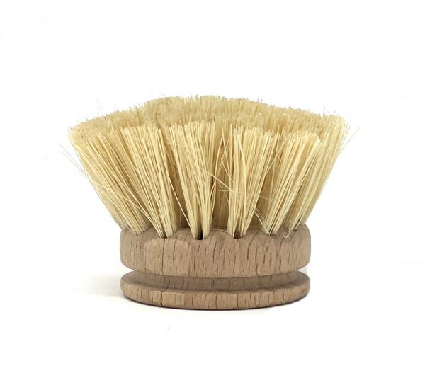 Ersatzköpfe für wilma nature Spülbürste vegan |FSC-Holz, Kaktus-Borsten | austauschbarer Bürstenkopf