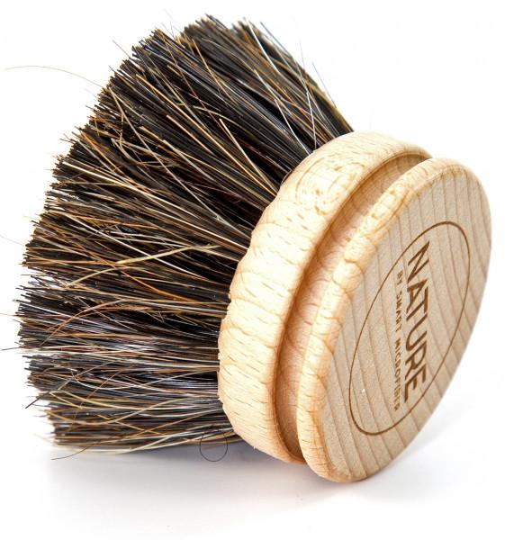 Ersatzköpfe 2x für Spülbürste  |FSC-Holz, Rosshaar | austauschbarer Bürstenkopf