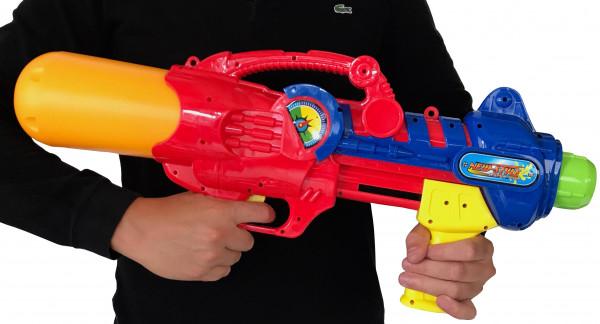 XXL Wasser-Pistole Kinder-Spielzeug Bunt Wasser-Spritze Sommer-Spielzeug Spielzeug-Pistole Wasser-Gewehr Aqua-Gun Pool-Kanone Planschbecken-Pistole Garten-Party Spielzeug-Waffe Swimming-Pool-Gun