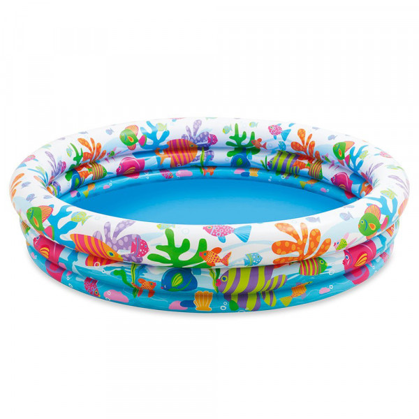 Intex 59431NP - 3-Ring-Pool - Fishbowl