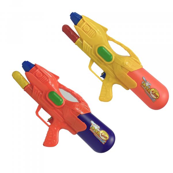 Wasserpistole - Spritzpistole mit 39cm Länge   XXL Tank  - farbliche Sortierung   Wassergewehr für mega Wasserschlachten und Pool-Partys  