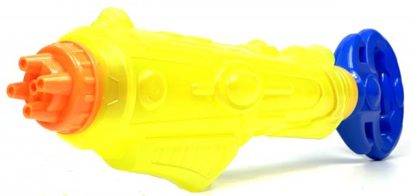 Wasserpistole - Poolkanone Spritzpistole mit 56cm Länge | tolles Wassergewehr für mega Wasserschlachten und Pool-Partys