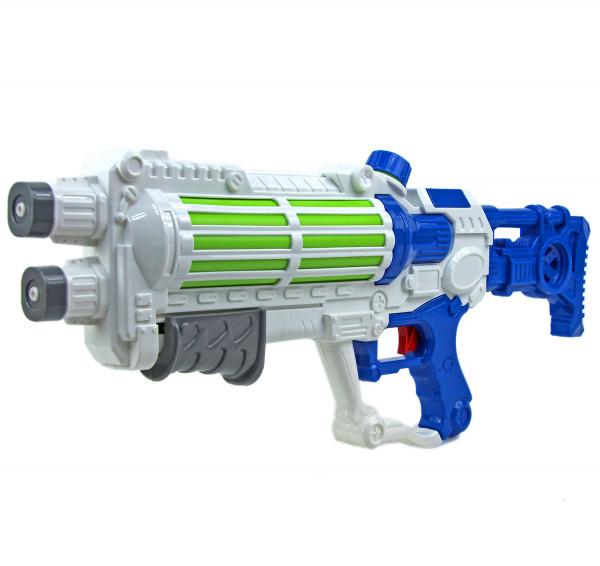 Wasser-Gewehr Pistole 49 cm Spielzeug-Waffe für Kinder und Erwachsene Wasser-Spritze Water-Gun Pool-Kanone  Planschbecken Zubehör