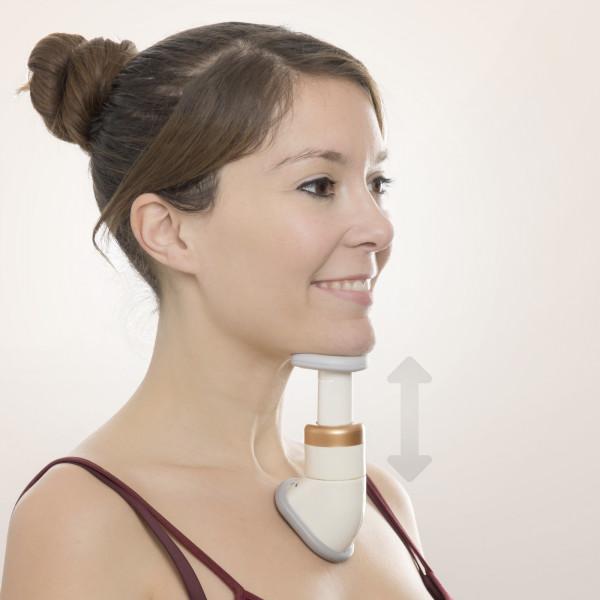 Massagegerät gegen Doppelkinn   verjüngert das Aussehen     Halsmuskulatur   Kinnmassage   Kinnstraffer   Hautstraffung   einfache Benutzung   Gesichtsmassage   strafft den Hals   3 Widerstandsstufen   effektive Methode zur Reduzierung von Kinnfalten