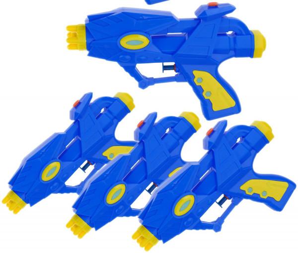Alien Wasserpistolen 4 Stück - farblich sortiert