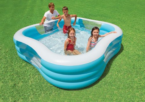 Intex 57495NP - Swim Center Family Pool  229 x 229 x 56 cm