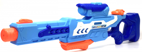 Wasserpistole - Spritzpistole mit 75cm Länge | XXL-Tank | tolles Wassergewehr für mega Wasserschlachten und Pool-Partys | Cooles Design aus Kunststoff |
