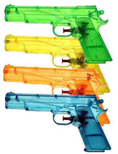 6 STÜCK- Wasserpistolen 540400