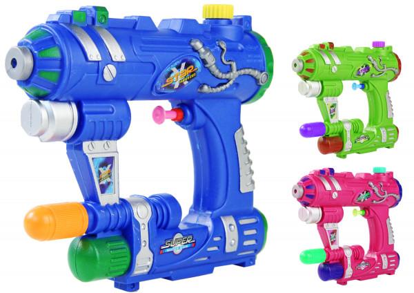 SPACE WARS Kinder-Spielzeug versch. Farben Wasser-Spritze Sommer-Spielzeug Spielzeug-Pistole Wasser-Gewehr Aqua-Gun Pool-Kanone Planschbecken-Pistole Garten-Party Spielzeug-Waffe Swimming-Pool-Gun