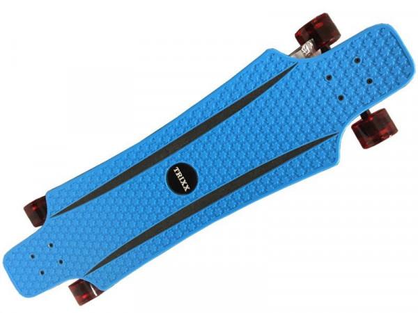Longboard Komplettboard | hochwertige Boards - ideal für Anfänger & Profis | Trixx Blue