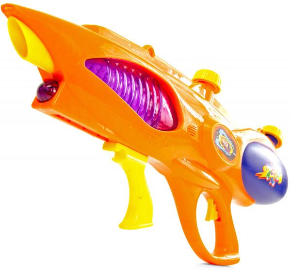 XXL Wasser-Pistole Kinder-Spielzeug Wasser-Spritze Sommer-Spielzeug Spielzeug-Pistole Wasser-Gewehr Aqua-Gun Pool-Kanone Planschbecken-Pistole Garten-Party Spielzeug-Waffe Swimming-Pool-Gun 58cm