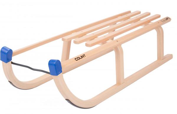 COLINT Holzschlitten DAVOS 100 cm Schlitten Holz Rodel DCL 60090