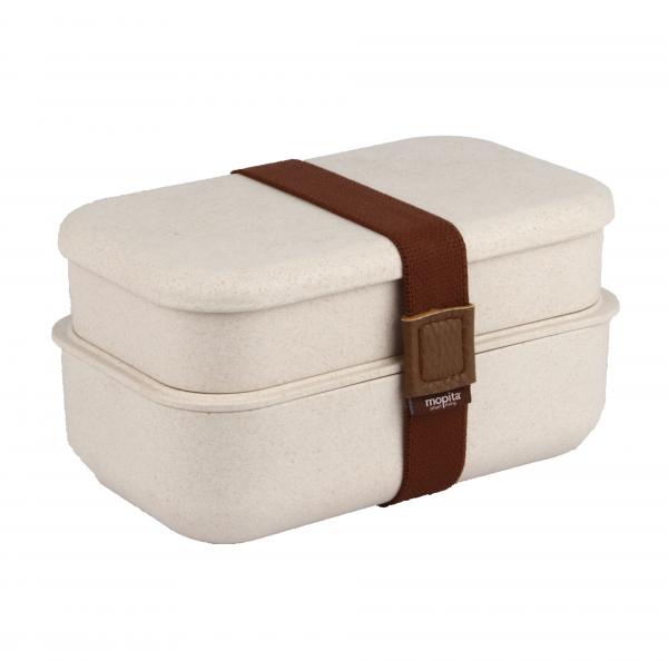 Bento Box für Erwachsenen, Jugendliche & Kinder | 8-teiliges Set inkl. Besteck bestehend aus Reisfasern | ideal für Jause, Vesper, Meal-Prep | täglich frisches & gesundes Essen | Mikrowellen - & spülmaschinenfest, BPA frei und hoch-qualitativ