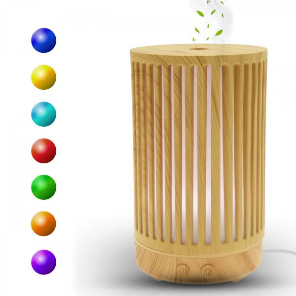 Aroma Diffuser | Ultra Leiser Luftbefeuchter | geeignet für Schlafzimmer Kinderzimmer | Öle Diffusor Aromatherapie | 7 Farben LED | Auto-Abschaltung