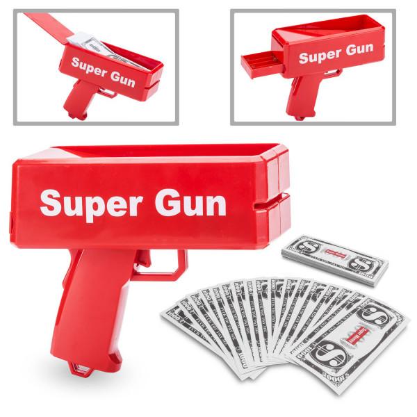 Geld Pistole | Money Gun | Spielzeug | Geldpistole für Kinder
