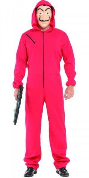 Haus des Geldes Kostüm | Mega-Set: Overall + Dali-Maske + Gewehr | top Qualität - top Verkleidung