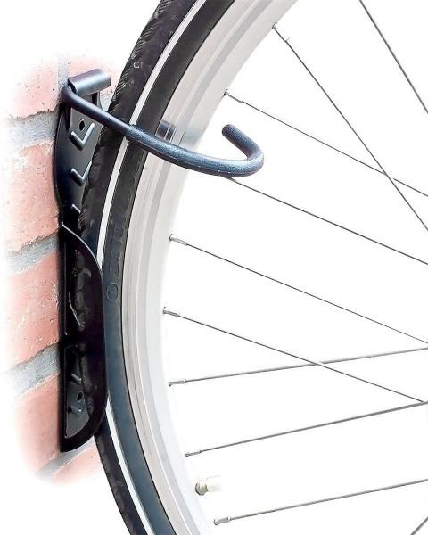 Fahrradhalterung 2er Set, Fahrrad Wandhalterung, Zum Aufhängen, schwarz