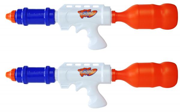 WASSERGEWEHR 2er Set Wasserspritze Wasserpistole