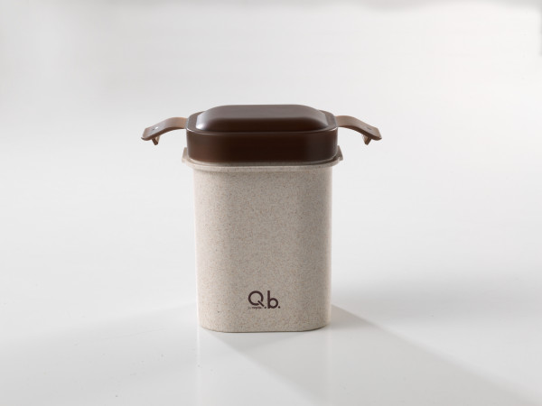 Bento Box für Erwachsenen, Jugendliche & Kinder | 2-teiliges Set perfekt für Salate, Joghurt und Suppen -  bestehend aus Reisfasern | ideal für Jause, Vesper, Meal-Prep | täglich frisches & gesundes Essen | Mikrowellen - & spülmaschinenfest, BPA frei