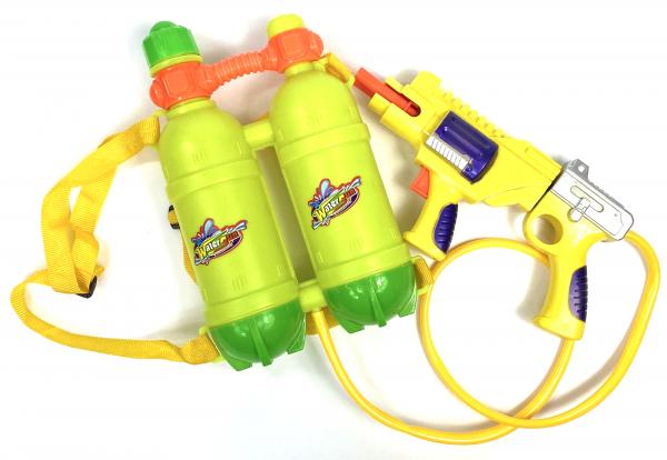 Wasserpistole - Spritzpistole mit 45cm Länge | XXL Tank | Wassergewehr für mega Wasserschlachten und Pool-Partys |